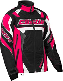 Castle X Bolt G4 Womens Snowmobile Jacket - Hot Pink - SML
