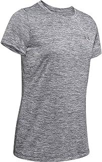 Under Armour Womens Tech V-Neck Twist Short Sleeve T-Shirt