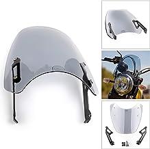 Areyourshop - Protector de parabrisas para Du-ca-ti Scrambler 2015-2018, protección contra el viento