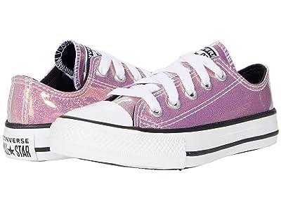 Converse Kids Chuck Taylor(r) All Star(r) Ox Iridescent Glitter (Little Kid/Big Kid)