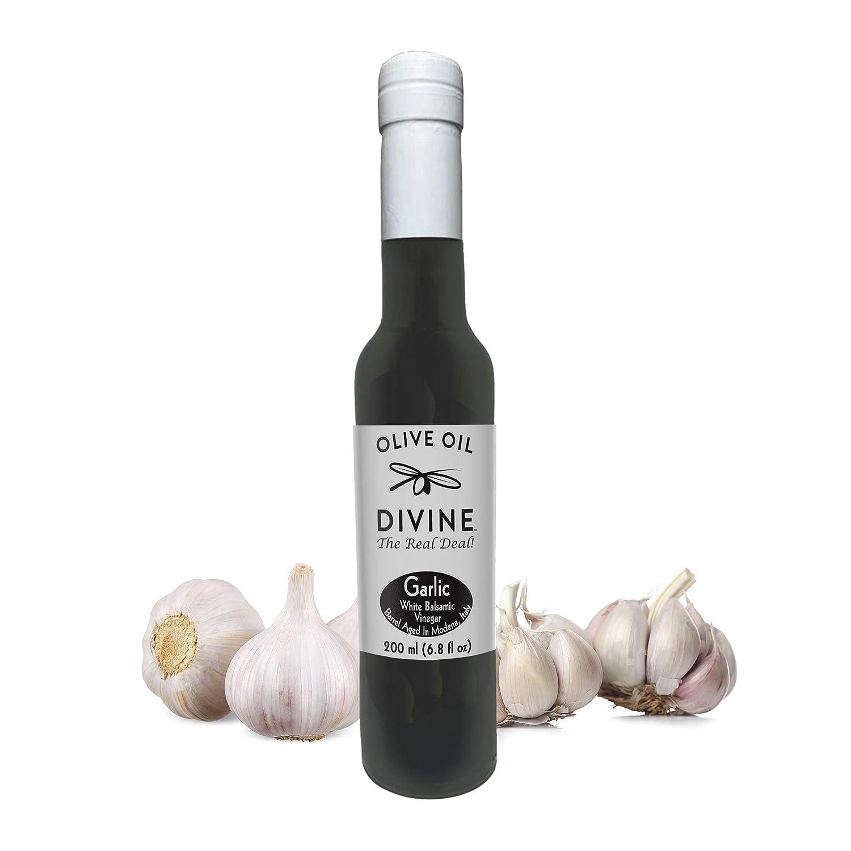 Olive Oil Divine - Garlic Aged White Vinegar Selling 6.8 Super sale 200ml Balsamic