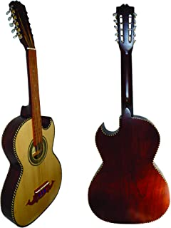 10 String Bajo Quinto Thin Box Solid Wood Sapele w/Truss Rod, Made in