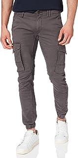 JACK & JONES Men's Jjipaul Jjflake AKM 542 Asphalt Noos Trouser, Grey (Asphalt), W33/L32 (Manufacturer size: 33)