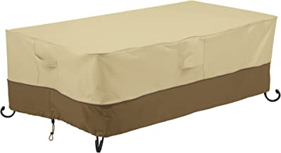 Classic Accessories Veranda Rectangular Fire Pit/Table Cover, 56-Inch