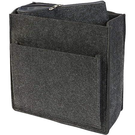 luxdag Rucksack Organizer aus Filz für Fjällräven Kanken 13l (Farbe wählbar) - Taschenorganizer für Rucksäcke mit herausnehmbarer Reißverschlusstasche für 13 Zoll Notebook