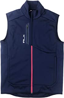 RLX Men's High Neck Zipper Closure Vest