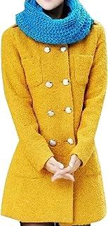 معطف رياضي نسائي مناسب طويل من الصوف من SportsXX
