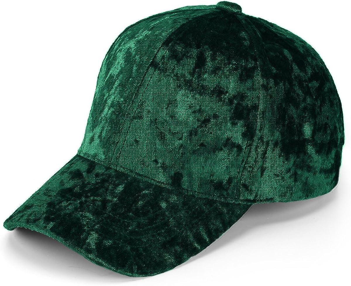 JOOWEN Super beauty product restock quality top Unisex Crushed Velvet Basketball Shin Cheap bargain Hat Soft Adjustable
