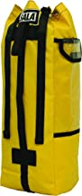 """3M DBI-SALA Rollgliss Technical Rescue 8700225 25L Rope Bag, Yellow, Small, Fits Rope 164 ' x 7/16"""" or 82 ' x 1/2"""", PVC Material"""