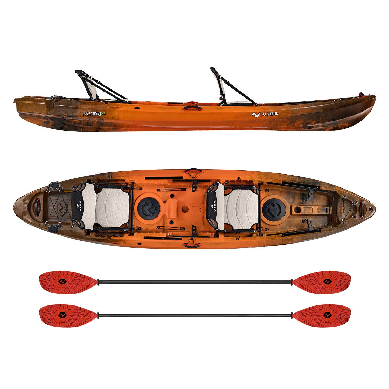 Vibe Kayaks Yellowfin Recreational Wildfire