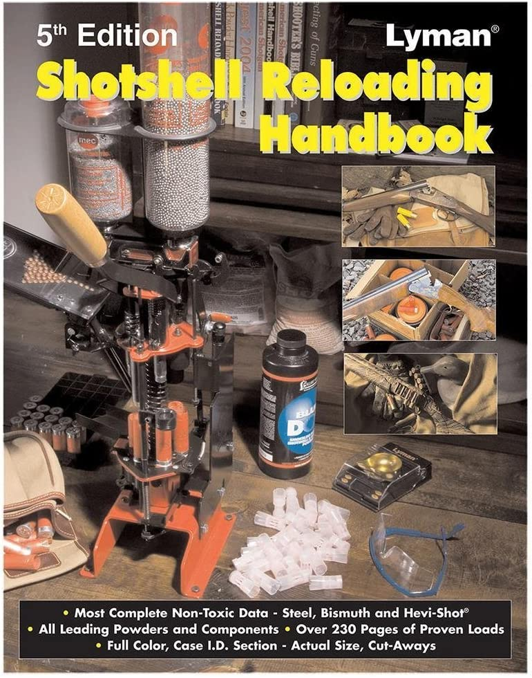 Lyman Shotshell Handbook depot Great interest Edition by 5Th