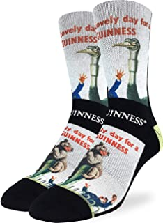 Good Luck Sock Men's Lovely Day for a Guinness Bear Socks - Shoe Size 8-13