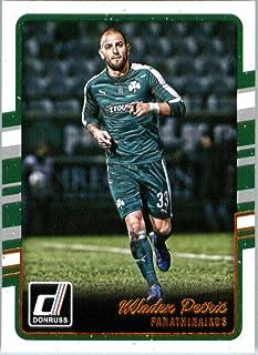 2016 Donruss #21 Mladen Petric Panathinaikos Soccer Card-MINT