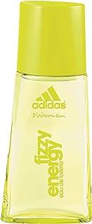 adidas Fizzy Energy Eau de Toilette – blommig och fräsch sommardoft för kvinnor – långvarig parfym för sportiga kvinnor – ...