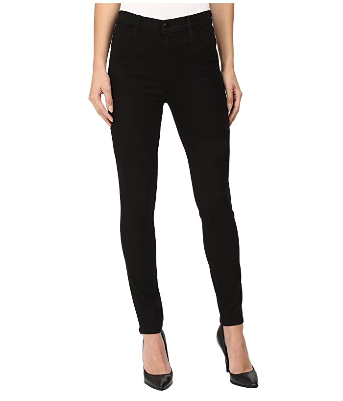 ac4eb3cb316c J Brand Maria High-Rise Skinny in Seriously Black at Zappos.com