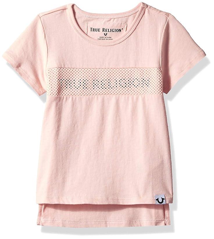 True Religion Baby Girls' Toddler Fashion Short Sleeve Tee Shirt