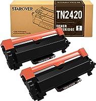 STAROVER Cartucho de Tóner Compatible para Brother TN-2420 TN2420 para MFC-L2710DW MFC-L2710DN MFC-L2730DW MFC-L2750DW...