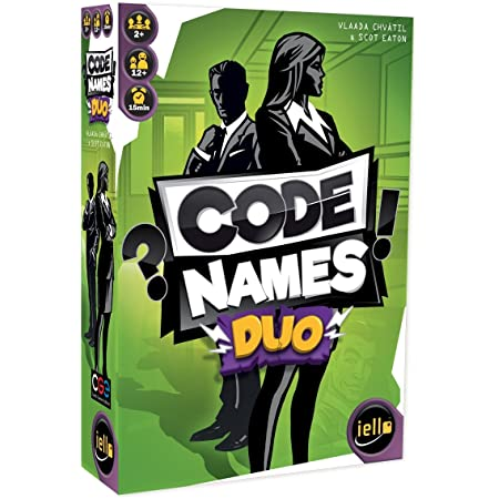 IELLO Codenames Duo, 51472, Multicolore