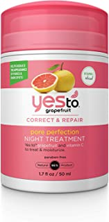 Yes To Grapefruit Pore Perfection Night Treatment, 1.7 Ounce