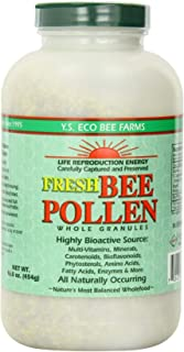 YS Bee Farms, Bee Pollen Organic, 16 Ounce