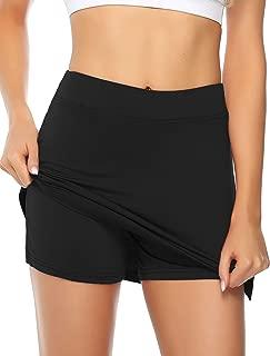 Misterjolly Women's Skort 1/2Pcs Girls Active Athletic Skirt for Running Tennis Golf Workout Sports S-XXL