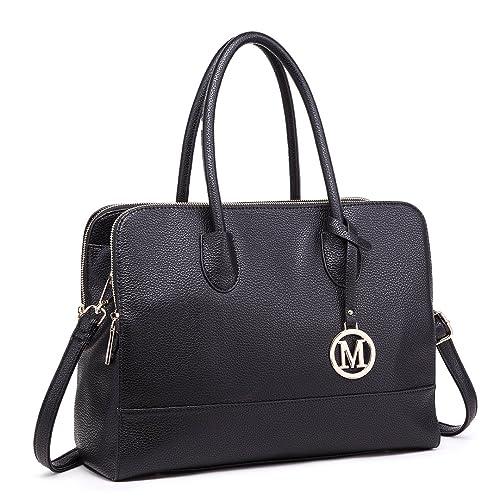 Miss Lulu Women Designer Shoulder Handbags Ladies Faux Leather Tote Bags 8abfd5756360b