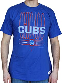 Mitchell & Ness Chicago Cubs MLB Pennant Vintage Premium Men's T-Shirt