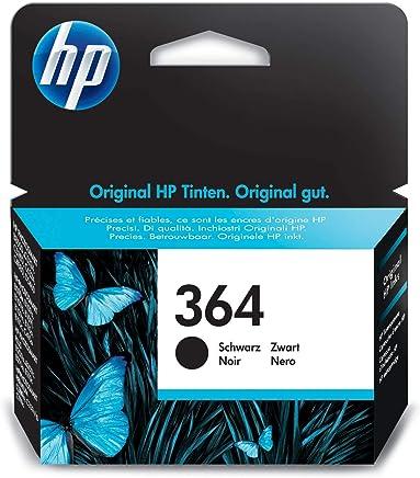 HP 364 cartouche d'encre noire authentique pour HP DeskJet 3070A et HP Photosmart 5525/6525 (CB316EE)