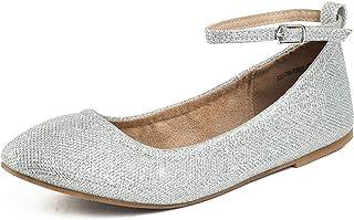 50e71e1bf DREAM PAIRS Women's Solid Plain Walking Classic Ballet Flats Shoes