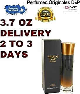 Armani Code Profumo by Giorgio Armani Eau De Parfum Spray 3.7 oz for Men - 100% Authentic