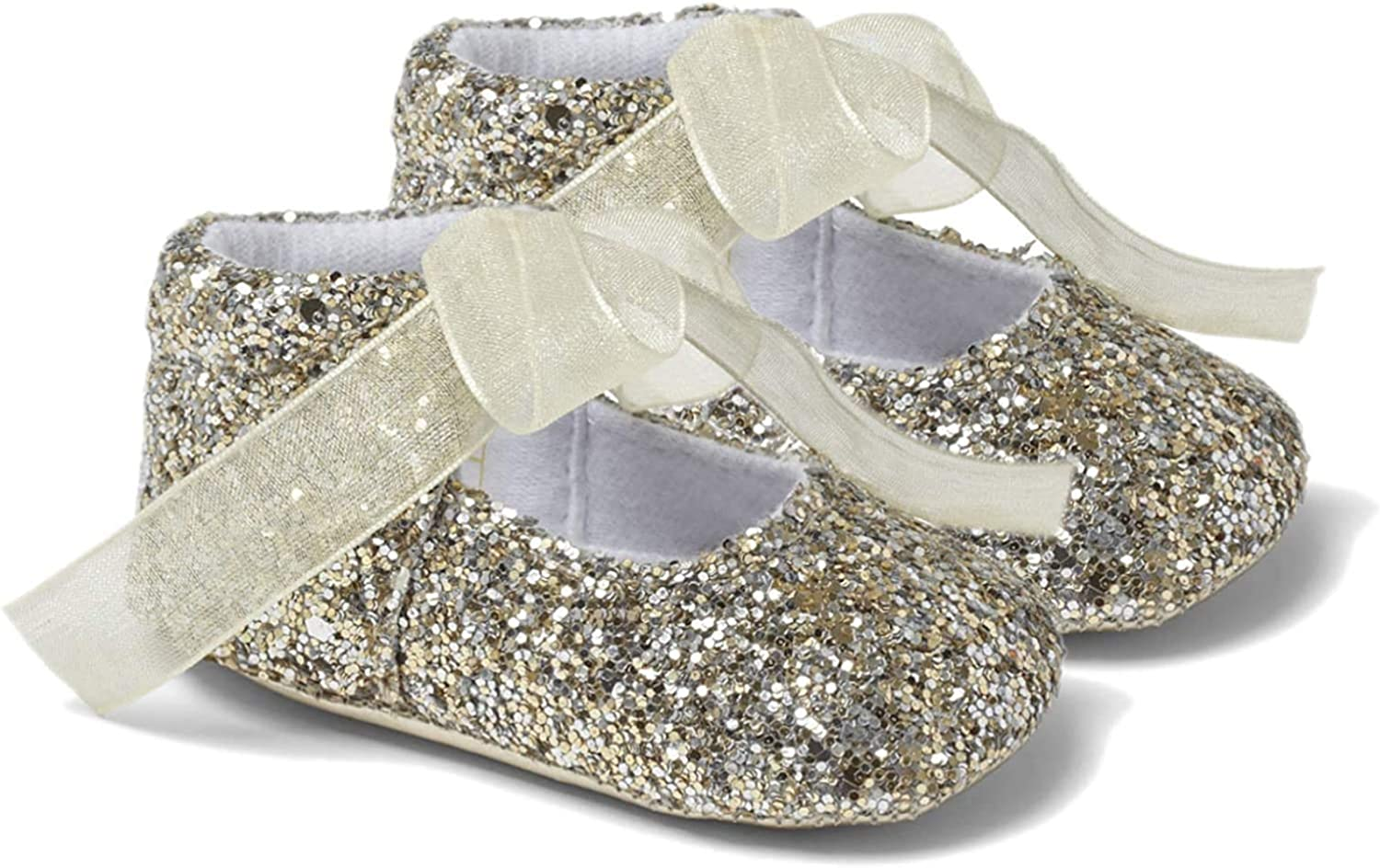 Baby Girls Booties - Pram Shoes, Party