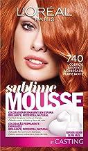 L'Oréal Paris Sublime Mousse Tinte en Espuma Coloración 740 Cobrizo Ardiente