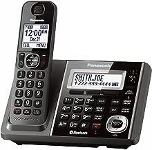 Panasonic KX-TGF370M DECT 6.0 1-Handset Landline Telephone (Renewed) (base unit for KX-TG585SK)