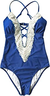 vintage high cut swimsuit