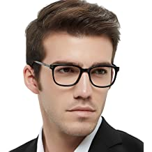 63e69ec034 OCCI CHIARI Optical Eyewear Non-prescription Fashion Glasses Eyeglasses  Frame with Clear Lenses for Men