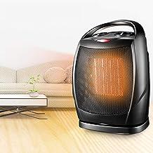 Shhjjyp Portátil Calefactor Eléctrico Mini Calentador de Ventilador Personal Ventilador Calefactor Eléctrico PTC Cerámica, Oscilación Automática Calefactor Aire y Caliente para Hogar Oficina