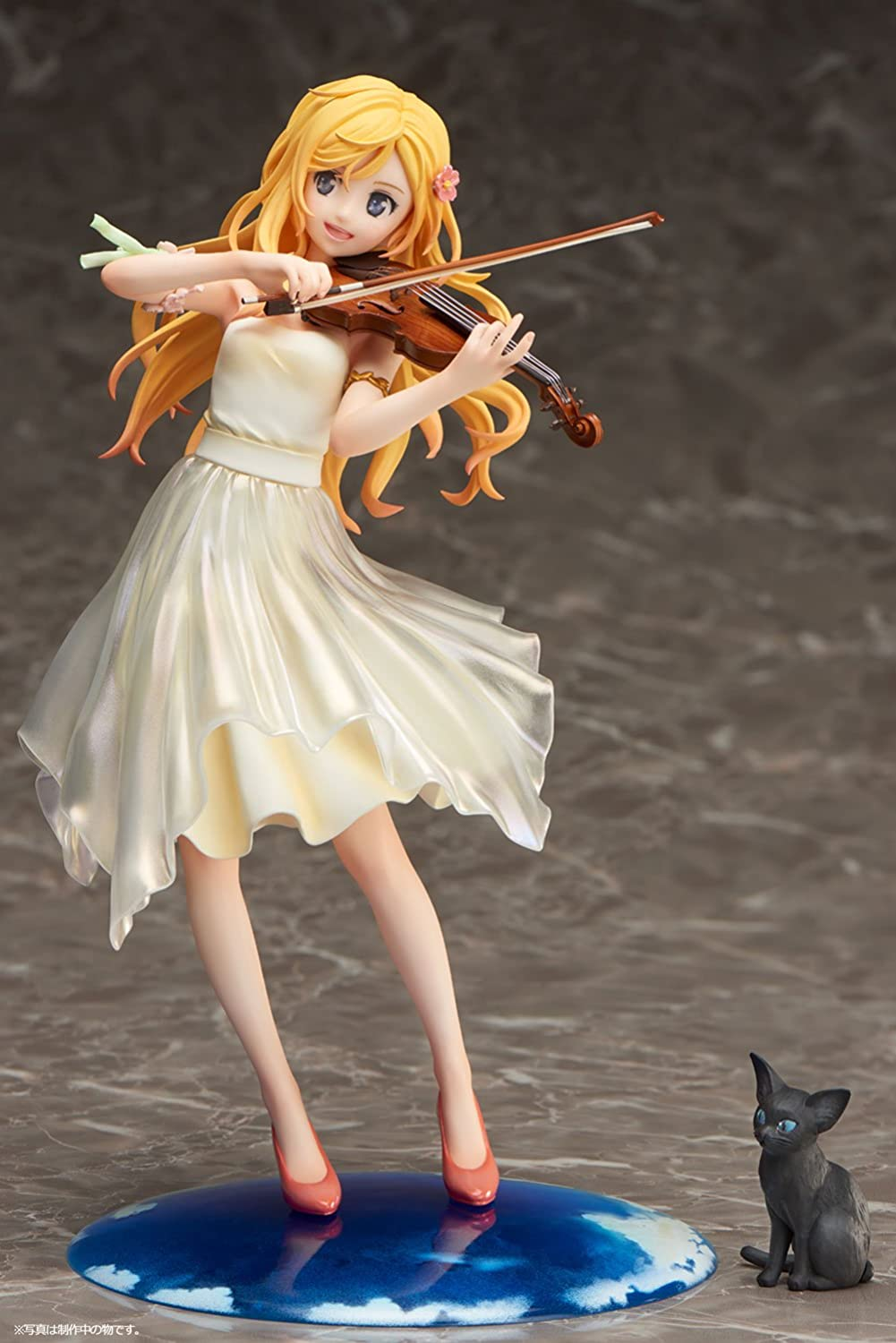 barato Your Lie in in in April Statue 1 8 Kaori Miyazono Dress Version 20 cm Aniplex  ventas en linea