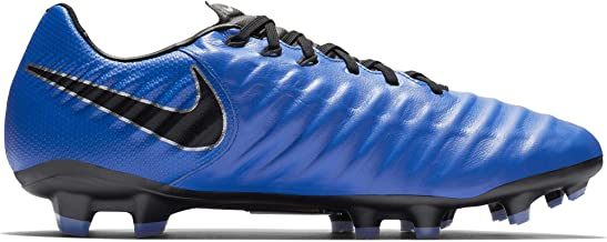 Nike Men Tiempo Legend VII Academy FG Firm-Ground Soccer Cleat (11 M US, Racer Blue/Black/Metallic Silver)