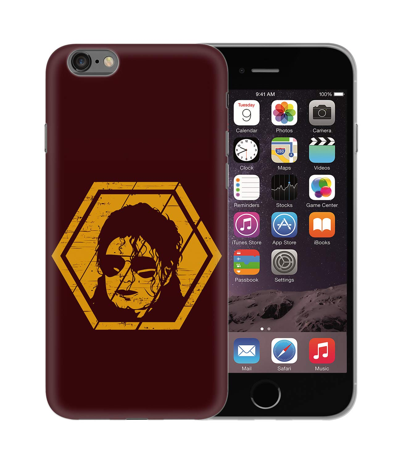 Michael Jackson Music Pop Legend Retro Style_BEN2858 Protective Phone Mobile Smartphone Case Funda Fundas Carcasa Cover Hard Plastic For iPhone X XS Funny Regalo Christmas: Amazon.es: Electrónica