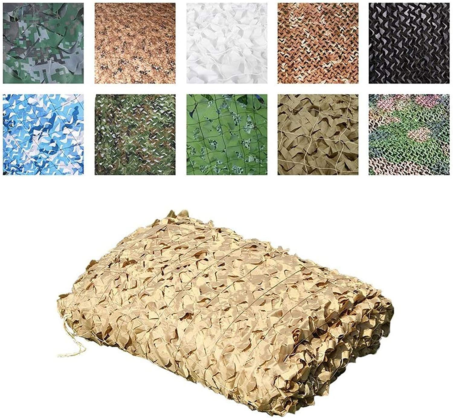 Camouflage Net Camouflage Camouflage Sunscreen Sunscreen Net, Military Troops Suitable for The Army Hide in The Hunting Photography Wildlife Photography Training Camp Hidden Shooting Multiple Sizes