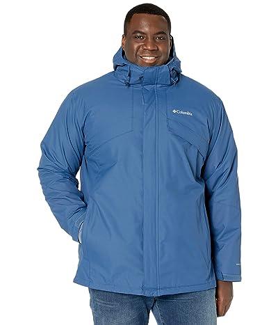 Columbia Big Tall Bugaboo II Fleece Interchange Jacket (Night Tide/Collegiate Navy Heather) Men