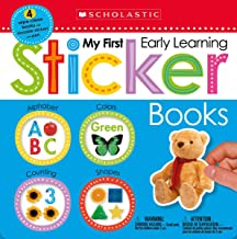My First Early Learning Sticker Books Box Set (Scholastic Early Learners)