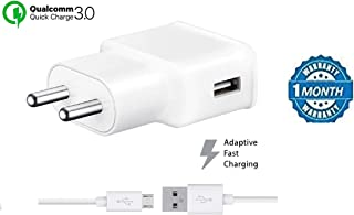 FASHIONISTA 2A Mobile Wall Charger Compatible for Samsung Galaxy S7 S6 C5 C7 C8 J2 J2 (2016) J2 (2017) J2(2018) J2 2016 J2 Ace J5 J5 Prime J7, J7 Prime, J7 Nxt, J7 Pro, J7 Max