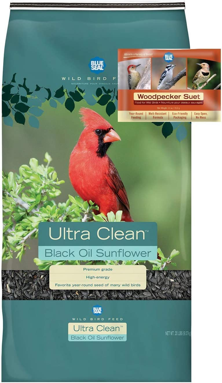 BLUE SEAL Ultra Clean Black trust Sunflower Oil Woodpecker Bird Seed Max 46% OFF