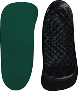 Spenco Rx Orthotic Arch Support 3/4 Length Shoe Insoles, Women's 9-10.5/Men's 8-9.5