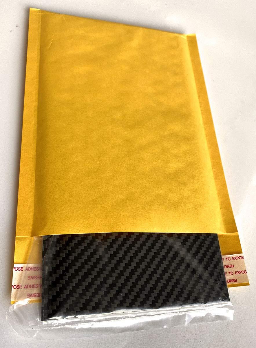 cncarbonfiber Carbon Fiber Sheet 150x125x1.5mm Panel Plate Board Twill Matte for RC Drone Quadcopter