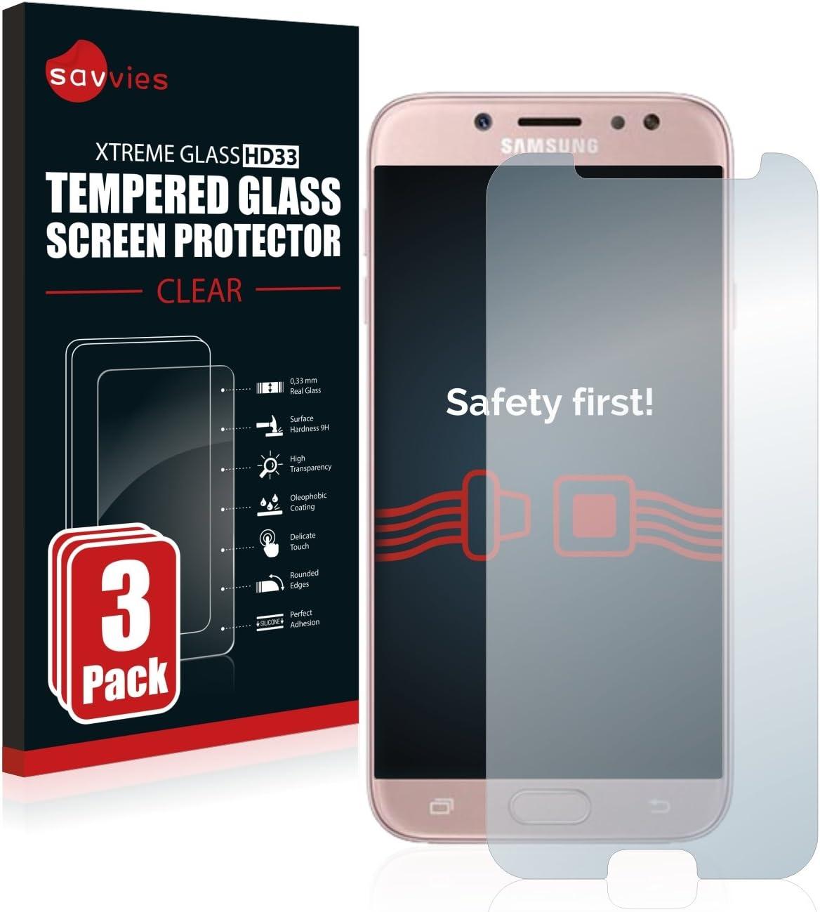 Savvies Panzerglas Kompatibel Mit Samsung Galaxy J7 Elektronik