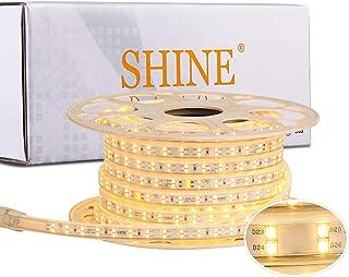Shine Decor LED Strip Lights 50FT Dimmable
