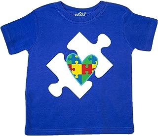 inktastic Autism Puzzle Piece Autistic Spectrum Awareness Toddler T-Shirt