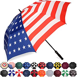 BAGAIL Golf Umbrella 68/62/58 Inch Large Oversize Double Canopy Vented Automatic Open..